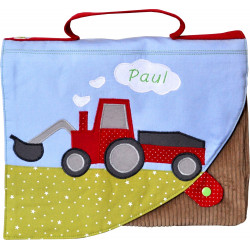 Cartable Tracteur