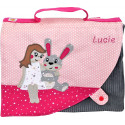 Cartable lapin fille Personnalisable