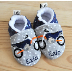 chaussons moto personnalisable