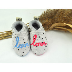 chaussons pour annoncer sa grossesse love