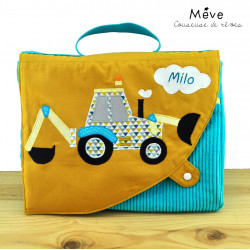 cartable maternelle tractopelle